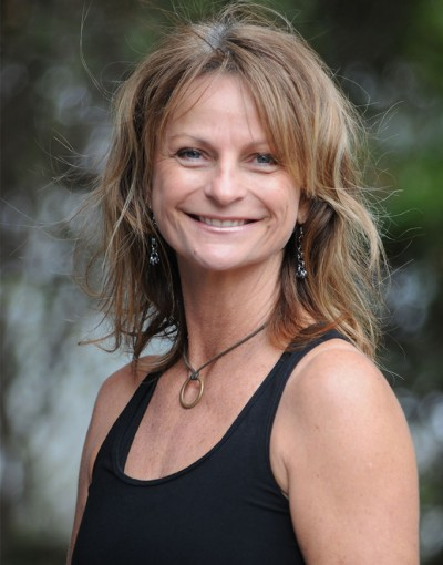 A photo of Cheryl Ward, Director, Owner, and Instructor at Forward Motion Yoga.