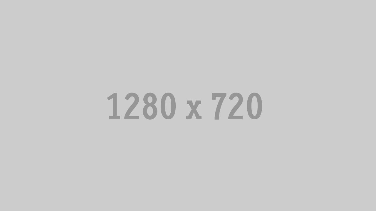 A large 1280 by 720 pixel grey rectangle.