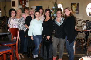 A group photo of the staff members at Forward Motion Yoga