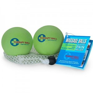 Two green therapy balls