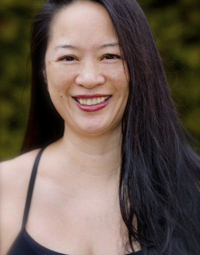 A photo of Lorraine Li, a trainer at Forward Motion Yoga.