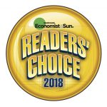 Reader's Choice 2018 logo.