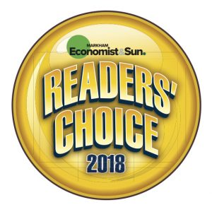 Reader's Choice 2018 logo.