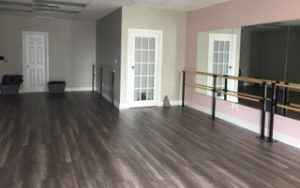 A photo of the new Forward Motion Yoga studio space