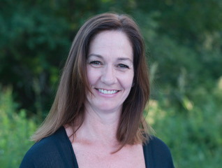A photo of Maureen Patterson, a trainer at Forward Motion Yoga.